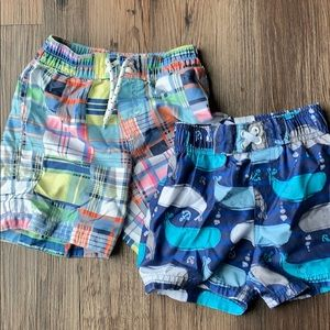 Bundle of Boys Swim Trunks